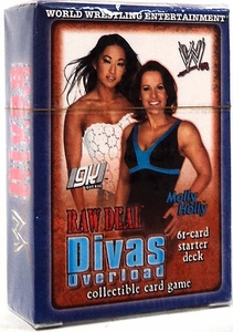 WWE Raw Deal Divas Overloaded Starter Deck Gail Kim and Molly Holly