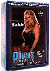 WWE Raw Deal Divas Overloaded Starter Deck Sable