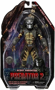 NECA Predator 2 Movie Series 6 Action Figure Scout Predator