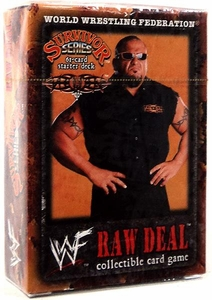 WWE Raw Deal Survivor Series Starter Deck Tazz