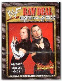 WWE Raw Deal Backlash Starter Deck The Hardy Boyz