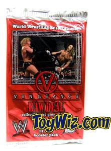 WWE Raw Deal Vengeance Booster Pack