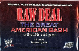 WWE Raw Deal Card Game The Great American Bash Booster Pack