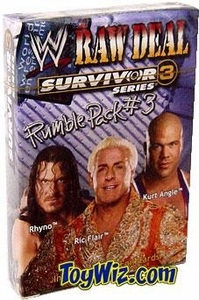 WWE Raw Deal Card Game Survivor Series 3 Rumble Pack #3