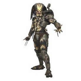 NECA Predator Movie Quarter Scale Action Figure Classic Original Predator CLOSED MOUTH