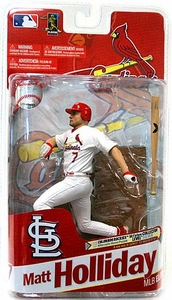 McFarlane Toys MLB Sports Picks 2011 Elite Series Action Figure Matt Holliday (St. Louis Cardinals) White Jersey