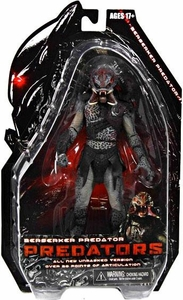 NECA Predators 2010 Movie Series 2 Action Figure Berserker Predator [Unmasked]