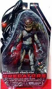 NECA Predators 2010 Movie Series 1 Action Figure Berserker Predator [With Mask]