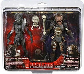 NECA Predator Exclusive Action Figure 2-Pack Berserker Predator & City Hunter