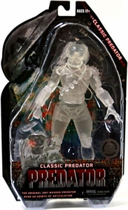NECA Predators Exclusive Action Figure Cloaked Classic Predator [Original 1987 Masked Predator] Damaged Package, Mint Contents!
