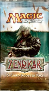Magic the Gathering Zendikar Booster Pack [Japanese]