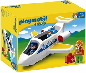 Playmobil 1.2.3 Set #6780 Personal Jet