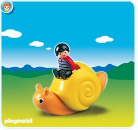 Playmobil 1.2.3 Set #6755 Rocking Snail