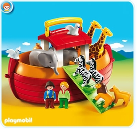 Playmobil 1.2.3 Set #6765 My Take Along 1.2.3 Noah's Ark