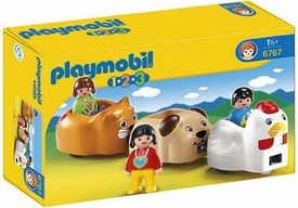 Playmobil 1.2.3 Set #6767 Animal Train