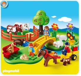 Playmobil 1.2.3 Set #6770 Countryside
