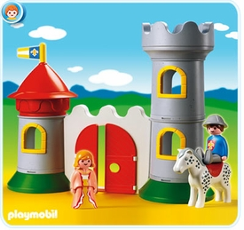Playmobil 1.2.3 Set #6771 My First 1.2.3 Knight`s Castle