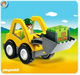 Playmobil 1.2.3 Set #6775 Excavator