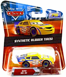 Disney / Pixar CARS Movie Exclusive 1:55 Die Cast Car with Synthetic Rubber Tires RPM