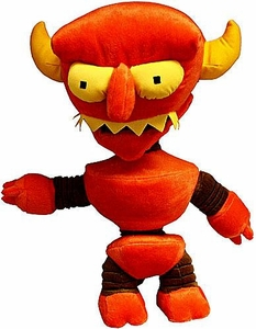 Toynami Futurama 2011 SDCC San Diego Comic-Con Exclusive 14 Inch Deluxe Plush Figure Robot Devil Only 666 Made!
