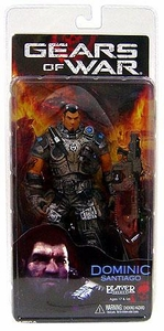 NECA Gears of War Series 2 Action Figure Dominic Santiago BLOWOUT SALE!