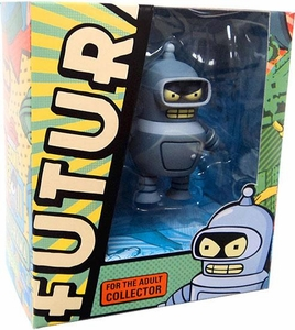Futurama Tineez 2011 SDCC San Diego Comic Con Exclusive Action Figure Bender Only 1,000 Made!