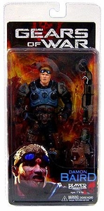 NECA Gears of War Series 2 Action Figure Damon Baird