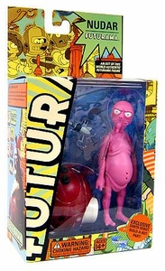 Futurama Toynami Series 4 Action Figure Nudar
