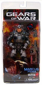 NECA Gears of War Series 2 Action Figure Marcus Fenix [Added Articulation!]