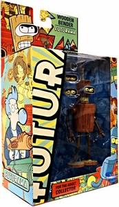 Futurama Toynami Series 9 Action Figure Wooden Bender