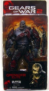 NECA Gears of War Series 4 Action Figure ELITE Locust Grenadier [Gnasher Shotgun]