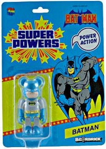 Medicom Bearbrick 2012 SDCC San Diego Comic Con Exclusive Super Powers Mini Figure Batman Be@rbrick