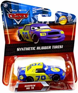 Disney / Pixar CARS Movie Exclusive 1:55 Die Cast Car with Synthetic Rubber Tires Gasprin