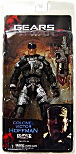 NECA Gears of War Series 5 Action Figure Colonel Victor Hoffman