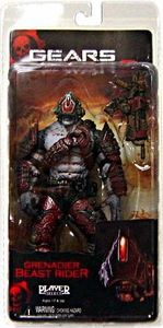 NECA Gears of War Series 5 Action Figure Grenadier Beast Rider [Locust]