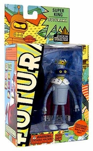 Futurama Toynami Series 5 Action Figure Super King Bender BLOWOUT SALE!