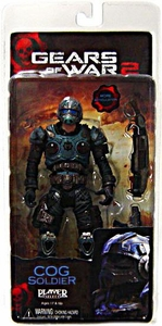 NECA Gears of War Series 5 Action Figure COG Soldier [Shotgun & Lancer]