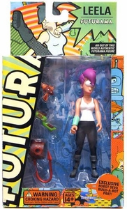 Futurama Toynami Original Build-A-Bot Series 2 Action Figure Leela