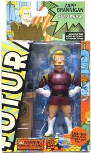 Futurama Toynami Original Build-A-Bot Series 2 Action Figure Zapp Brannigan