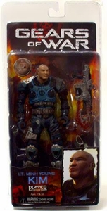 NECA Gears of War Exclusive Action Figure Lt. Minh Young Kim