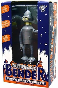 Futurama Rocket USA Super Heavyweight Die-Cast  Bender