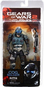 NECA Gears of War Series 6 Action Figure COG Soldier [New Articulation!]