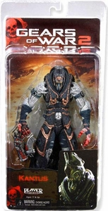 NECA Gears of War Series 6 Action Figure Kantus [Gorgon Pistol]