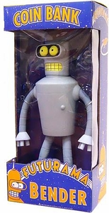 Funko Futurama 12 Inch Wacky Wobbler Bobble Head Bank Bender