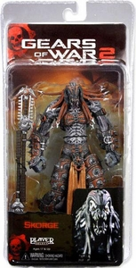 NECA Gears of War Series 6 Action Figure Skorge [Chainsaw Staff]
