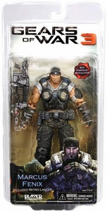 NECA Gears of War 3 Series 1 Action Figure Marcus Fenix [Retro Lancer]