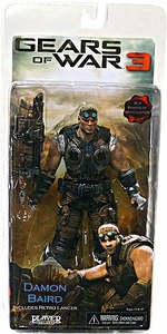 NECA Gears of War 3 Series 2 Action Figure Damon Baird [Retro Lancer, Wrench & Screwdrivers]