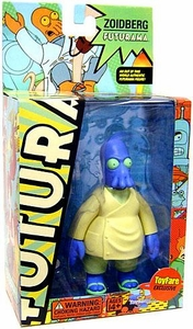 Futurama Toynami ToyFare Exclusive Action Figure Dr. Zoidberg [Blue Version] Universe B Parabox