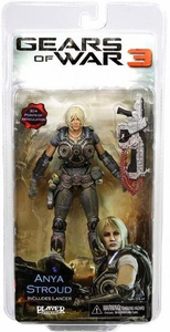 NECA Gears of War 3 Series 1 Action Figure Anya Stroud [Lancer]
