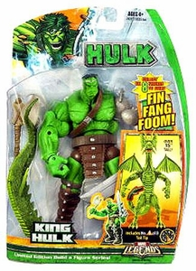 Hasbro Marvel Legends Hulk Series [Build a Fin Fang Foom] Action Figure King Hulk